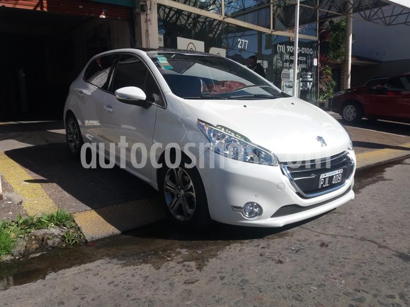 Peugeot 208 Feline 1.6 Pack Cuir usado (2015) color Blanco precio $899.000