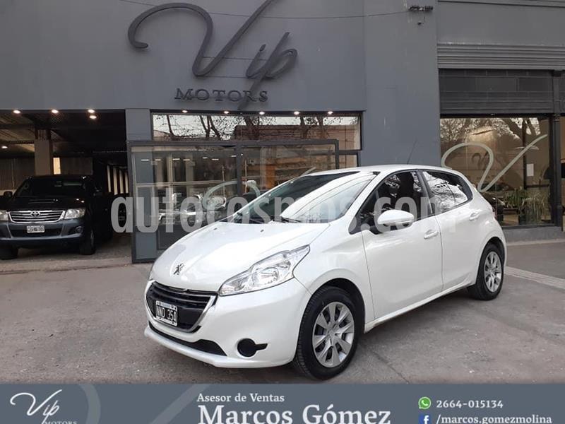 Peugeot 208 Allure 1.5 NAV usado (2014) color Blanco precio $780.000