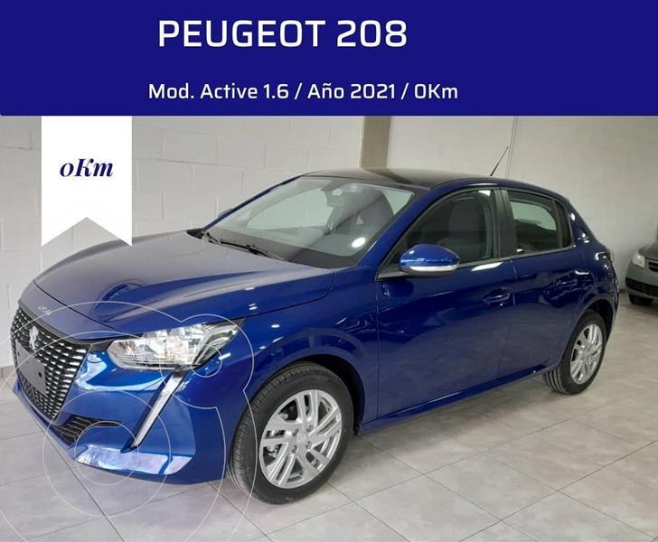 Foto Peugeot 208 Active 1.6 nuevo color A eleccion financiado en cuotas(anticipo $217.000)