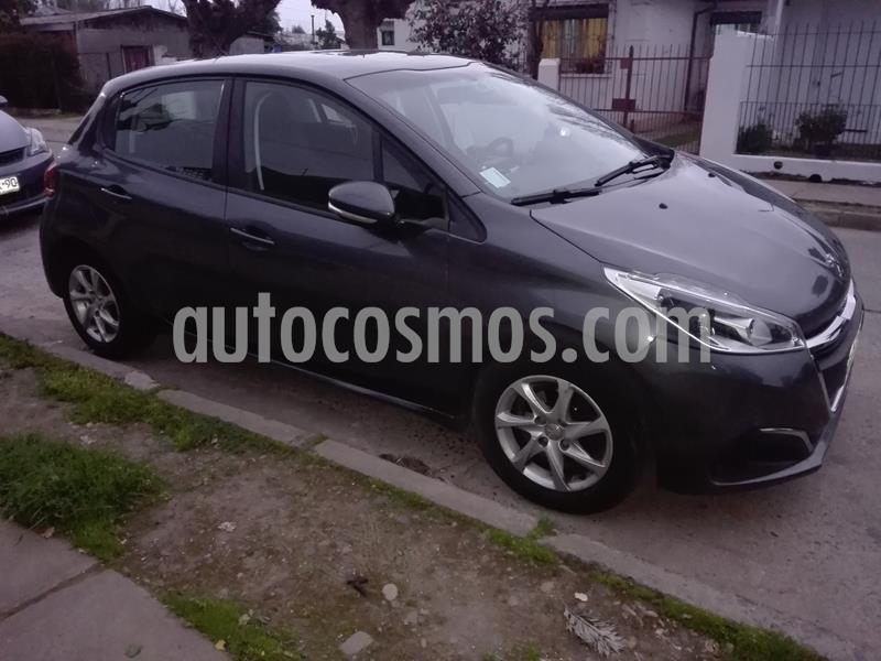 Peugeot 208 1.6L 5P Active Pack BlueHDi 100HP usado (2017) color Gris Shark precio $8.000.000