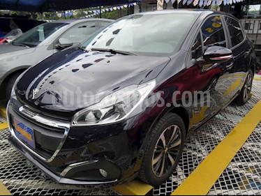 Peugeot 208 Active Aut usado (2020) color Azul precio $57.900.000
