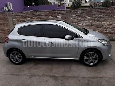 Foto venta Auto usado Peugeot 208 Feline 1.6 Pack Cuir (2015) color Gris Claro precio $480.000