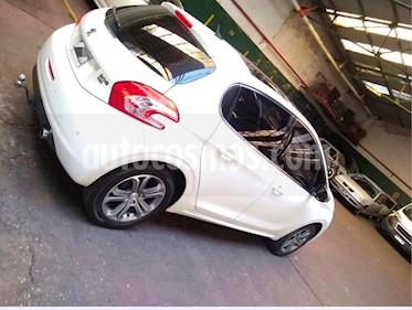 Peugeot 208 Feline 1.6 Pack Cuir usado (2015) color Blanco Nacre precio $420.000