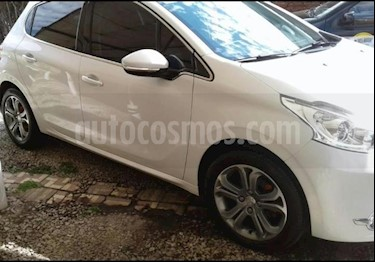 Peugeot 208 Feline 1.6  usado (2014) color Blanco Nacre precio $630.000