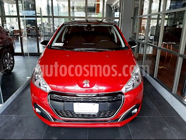 Peugeot 208 1.6L Allure Aut usado (2018) color Rojo Rubi precio $189,000