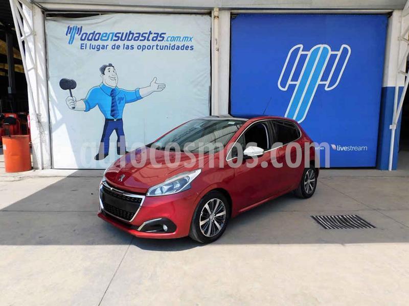 Peugeot 208 1.6L Feline Aut usado (2017) color Rojo precio $96,000
