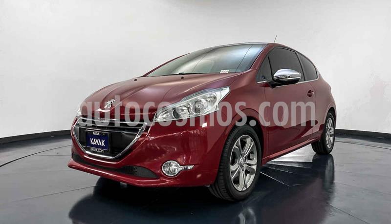 Peugeot 208 1.6L Allure 3P usado (2015) color Rojo precio $169,999