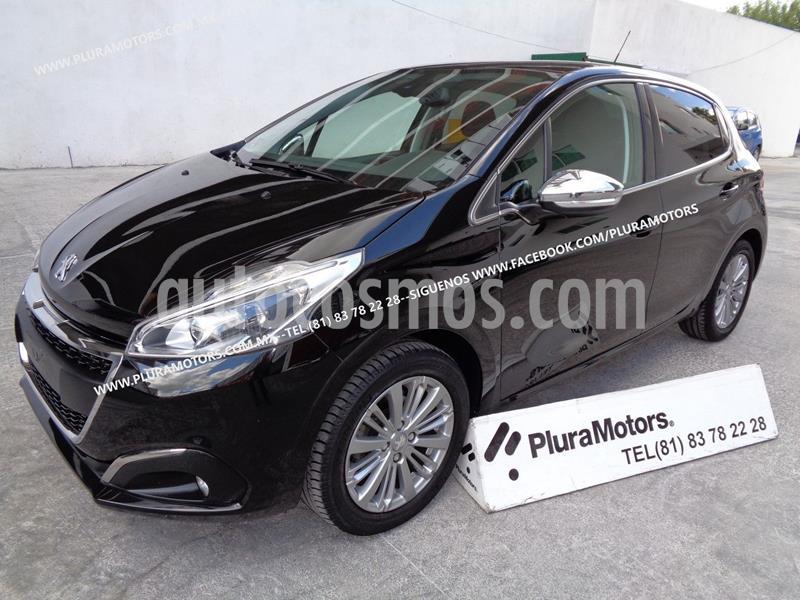 Peugeot 208 1.2L Allure PureTech  usado (2019) color Negro precio $219,000