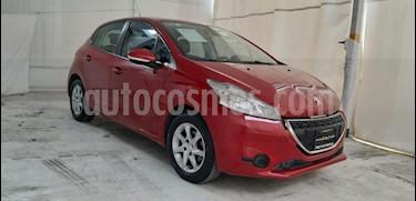 Peugeot 208 1.2L Active PureTech usado (2016) color Marron precio $130,000