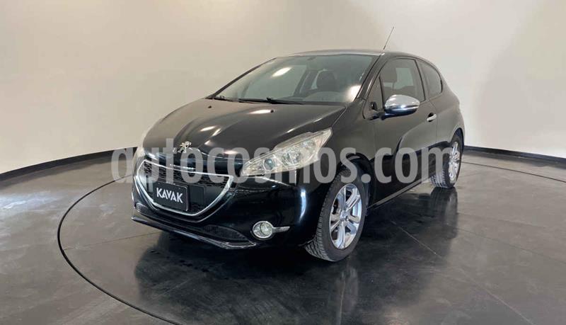 Peugeot 208 1.6L Allure usado (2015) color Negro precio $149,999