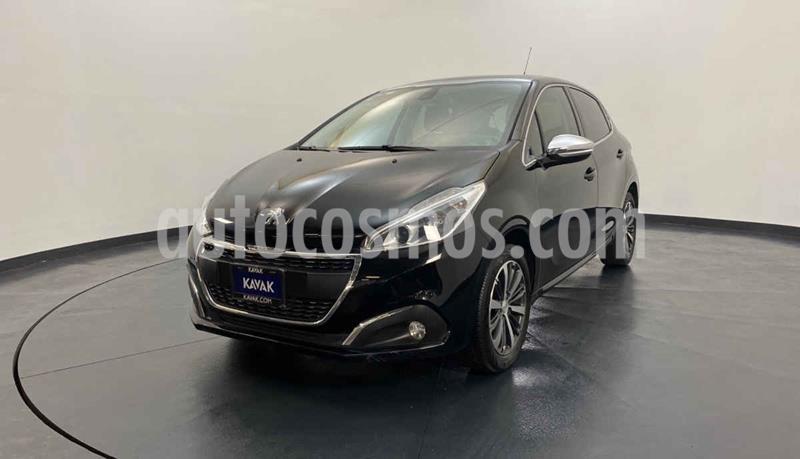 Peugeot 208 1.6L Feline Aut usado (2017) color Negro precio $207,999