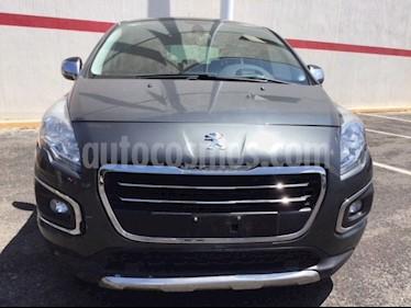 Foto venta Auto Seminuevo Peugeot 3008 3008 FELINE 1.6 LTS TURBO (2015) color Gris Shark precio $210,000