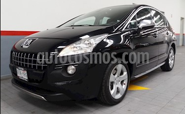 Foto venta Auto usado Peugeot 3008 5p Roland Garros L4/1.6/T Aut (2013) color Negro precio $169,000