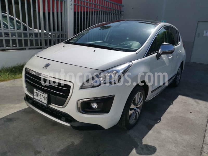 Peugeot 3008 Feline usado (2016) color Blanco precio $199,000