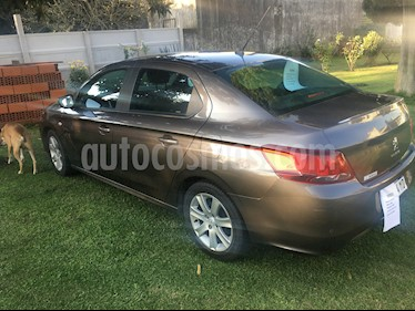 Peugeot 301 Allure 1.6 Plus Tiptronic usado (2018) color Gris Shark precio $800.000