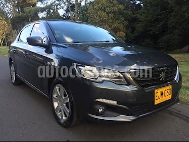 Peugeot 301 1.6L Allure Aut usado (2018) color Gris Shark precio $43.900.000