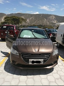 Peugeot 301 1.6L Active  usado (2015) color Bronce precio u$s15.800