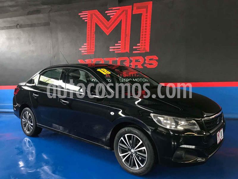 Peugeot 301 Allure Aut usado (2018) color Negro precio $168,900