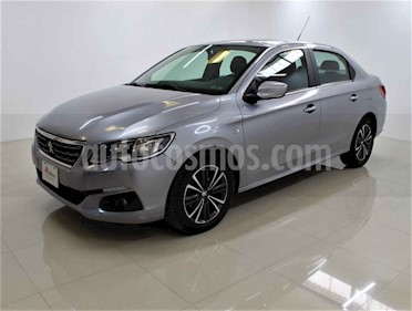 Peugeot 301 4p Allure L4/1.6 Aut 6V usado (2018) color Plata precio $188,000