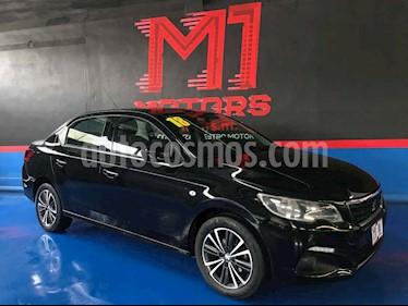 Peugeot 301 Allure Aut usado (2018) color Negro precio $185,500