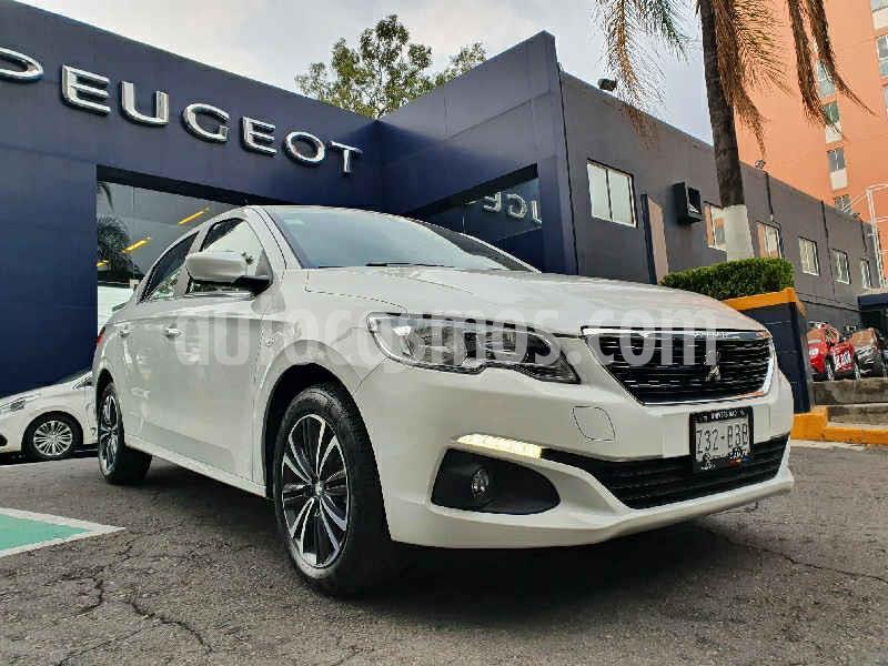 Peugeot 301 Allure Aut usado (2019) color Blanco precio $234,900
