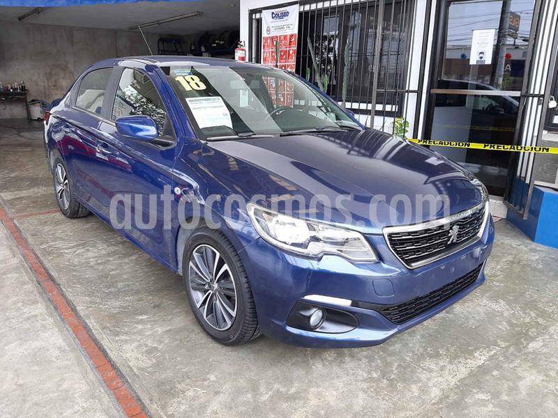 Peugeot 301 Allure Aut usado (2018) color Azul precio $178,000