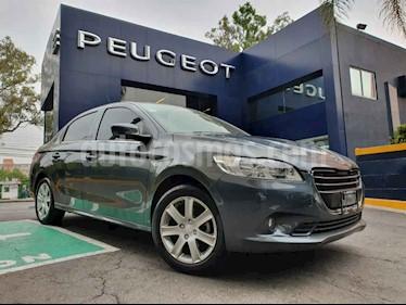 Peugeot 301 4p Allure L4/1.6Man usado (2016) color Gris precio $164,900