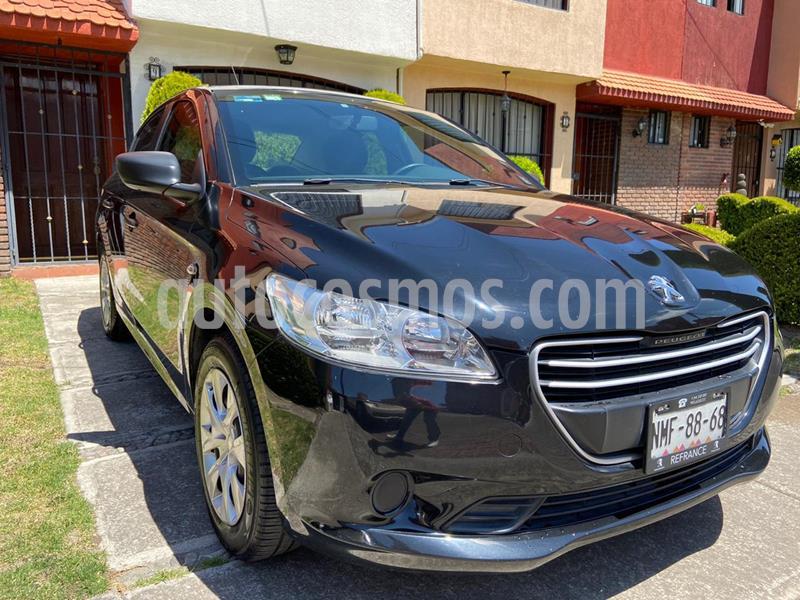 Peugeot 301 Access usado (2015) color Negro precio $120,000