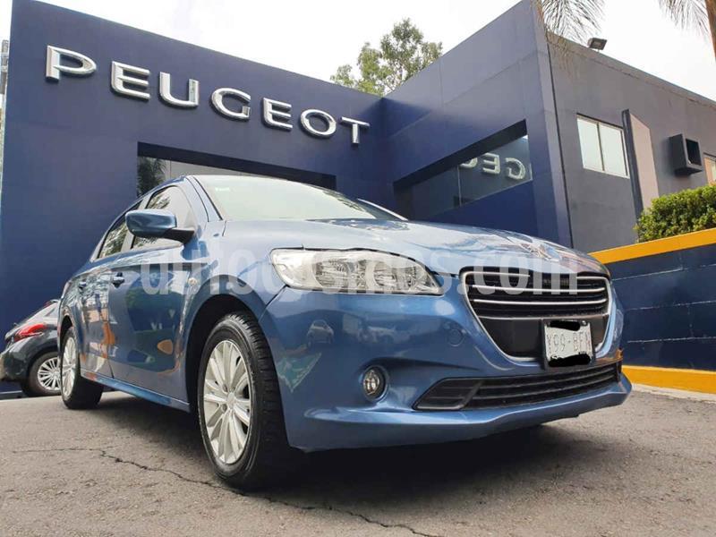 Peugeot 301 Active Aut usado (2016) color Azul precio $132,900