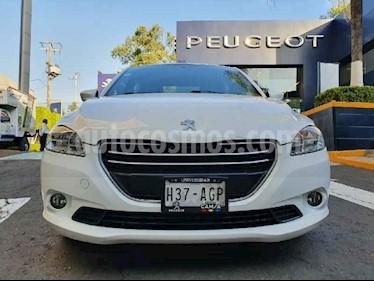 Peugeot 301 4p Active HDI L4/1.6 Man usado (2016) color Blanco precio $142,900