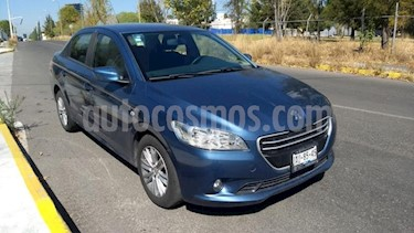 Peugeot 301 4P ACTIVE AT A/AC. CD USB BLUETOOTH ABS F.NIEBLA  usado (2017) color Azul precio $149,000