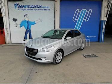 Peugeot 301 4p Allure HDI L4/1.6 Man usado (2017) color Plata precio $65,000