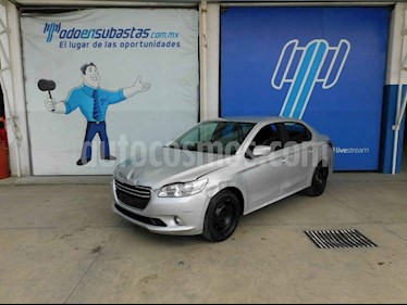 Peugeot 301 4p Active L4/1.6 Man usado (2017) color Plata precio $60,000