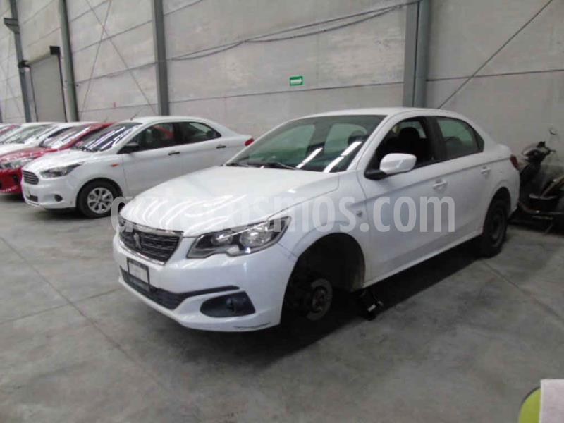 Peugeot 301 Allure Aut usado (2018) color Blanco precio $96,000
