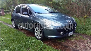 Foto venta Auto Usado Peugeot 307 5P 2.0 HDi XS (2009) color Gris Claro precio $195.000