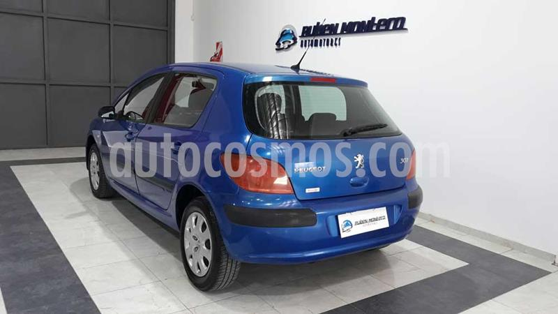 Peugeot 307 Xs 5p 1.6 usado (2005) color Celeste precio $390.000