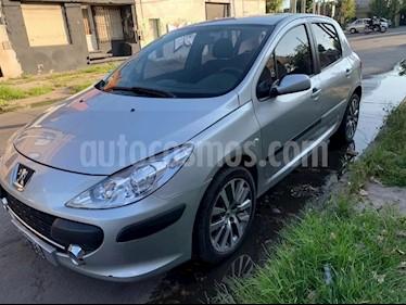 Peugeot 307 5P 2.0 HDi XS usado (2007) color Gris Plata  precio $330.000