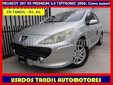 Peugeot 307 4P 2.0 XS Premium Tiptronic usado (2006) color Plata precio $470.000
