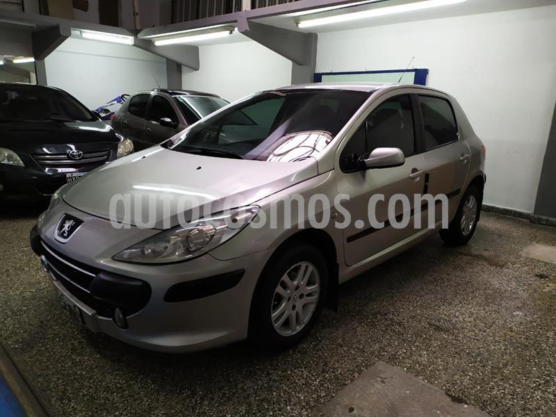 Peugeot 307 5P 2.0 HDi XS usado (2008) color Gris Plata  precio $440.000