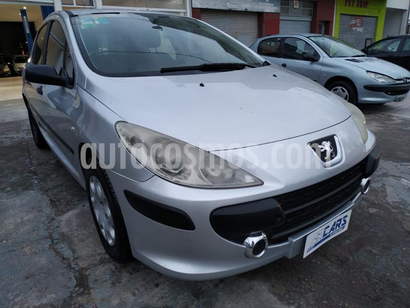 Peugeot 307 5P 1.6 XR usado (2007) color Gris precio $395.000