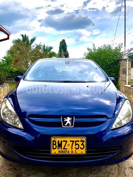 Peugeot 307 5P 2.0L HDi usado (2002) color Azul de China precio $14.000.000
