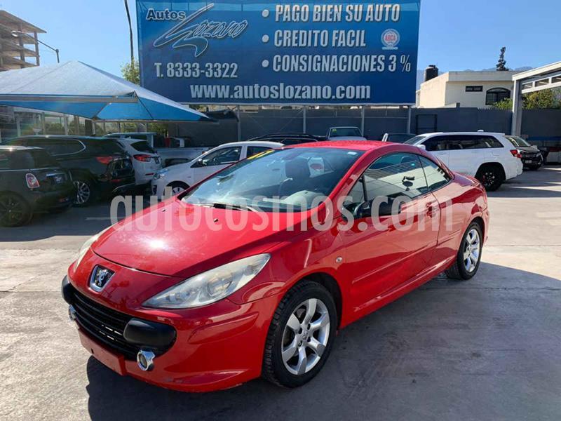 Peugeot 307 CC Dynamique Piel Aut usado (2007) color Rojo precio $89,900
