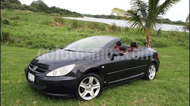 Peugeot 307 CC Dynamique Piel usado (2005) color Negro precio $82,500