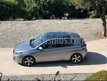 Peugeot 308 1.6L Allure BlueHDi 120HP  usado (2017) color Gris precio $12.000.000