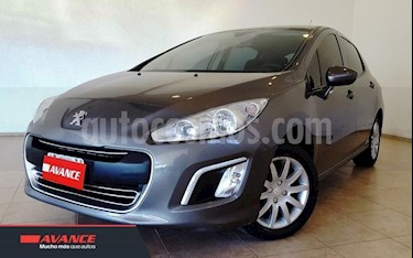 Foto venta Auto Usado Peugeot 308 Active NAV (2014) color Gris Oscuro precio $369.000