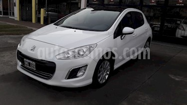 Peugeot 308 Allure 2014/5 usado (2014) color Blanco Nacre precio $536.000