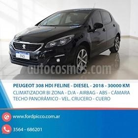 Foto venta Auto usado Peugeot 308 Allure HDi NAV (2018) color Negro precio $760.000