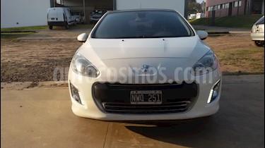 Foto venta Auto usado Peugeot 308 Allure HDi NAV (2014) color Blanco Banquise precio $480.000
