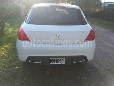 Foto venta Auto usado Peugeot 308 Allure NAV (2012) color Blanco precio $355.000