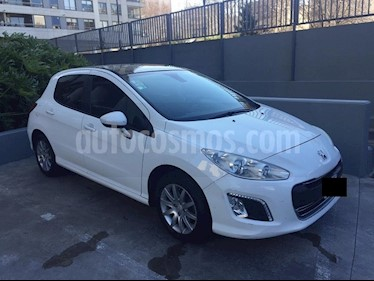Foto venta Auto usado Peugeot 308 Allure NAV (2013) color Blanco Banquise precio $396.900